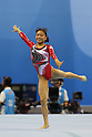Kyoko Oshima (JPN), ..AUGUST 13, 2011 - Artistic Gymnastics : ..The 26th Summer Universiade 2011 Shenzhen ..Women's Team competition ..Floor exercise ..at Shenzhen Baoan Gymnasium, Shenzhen, China. ..(Photo by YUTAKA/AFLO SPORT) [1040]