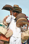 STRAW HATS &amp; BASKETS VENDOR<br />