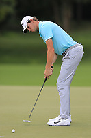 Thomas Pieters (BEL) putts on the 12th green during Friday's Round 2 of the 2017 PGA Championship held at Quail Hollow Golf Club, Charlotte, North Carolina, USA. 11th August 2017.<br /> Picture: Eoin Clarke | Golffile<br /> <br /> <br /> All photos usage must carry mandatory copyright credit (&copy; Golffile | Eoin Clarke)