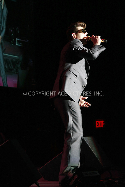 WWW.ACEPIXS.COM....August 16, 2012, Philadelphia, Pennsylvania.....Robin Thicke performing at The Dell Music Center on August 16, 2012 in Philadelphia, Pennsylvania. ........By Line: William T. Wade Jr./ACE Pictures....ACE Pictures, Inc..Tel: 646 769 0430..Email: info@acepixs.com