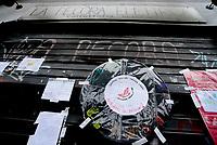 Roma, 9 Novembre 2019<br /> La Pecora Elettrica.<br /> La libreria caffè Pecora Elettrica in Via delle Palme a Centocelle incendiata per la seconda volta il 6 Novembre