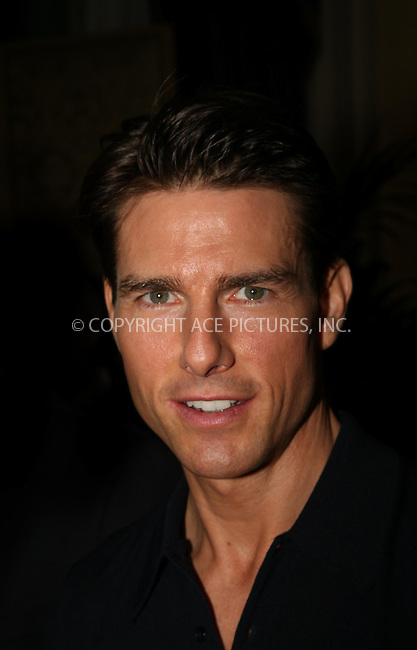 Actor Tom Cruise attends 'Valkyrie' Photocall at the Ritz Hotel on January 27, 2009 in Madrid, Spain.(C) M.Pergon - Astufoto