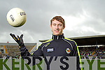 James O'Donoghue at the Kerry Senior Football Team Media day at Fitzgerald Stadium on Saturday.