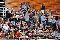 12 January 2012:  FIU fans cheer on their team in the second half as the Middle Tennessee State University Blue Raiders defeated the FIU Golden Panthers, 74-60, at the U.S. Century Bank Arena in Miami, Florida.