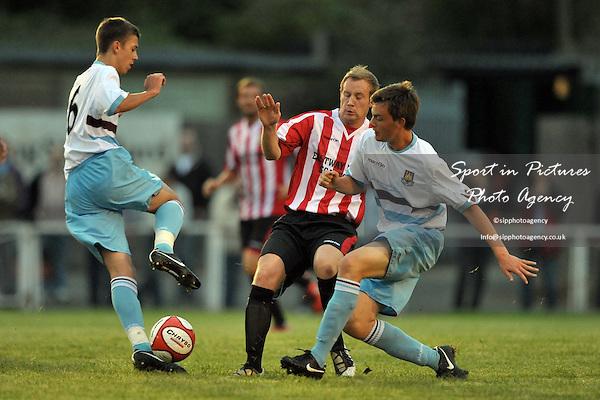 AFC Hornchurch Vs West Ham United XI. Pre-season friendly. The Stadium. Essex. 10/08/2010. Credit Sportinpictures/Garry Bowden