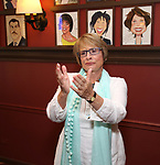 Patti LuPone during the Sardi's Portrait unveiling for The Band's Visit composer-lyricist David Yazbek at Sardi's on June 7, 2018 in New York City.