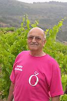 Regis Boucabeeille, owner. Domaine Boucabeille, Corneilla la Riviere, Roussillon, France