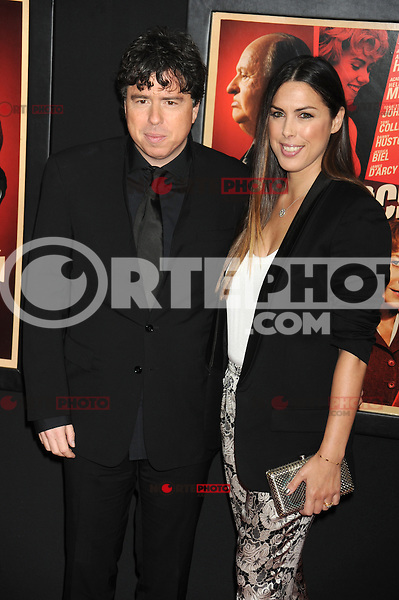 NEW YORK, NY - NOVEMBER 18: Sacha Gervasi and Jessica de Rothschild at the 'Hitchcock' New York Premiere at Ziegfeld Theatre on November 18, 2012 in New York City. Credit: mpi01/MediaPunch inc. NortePhoto