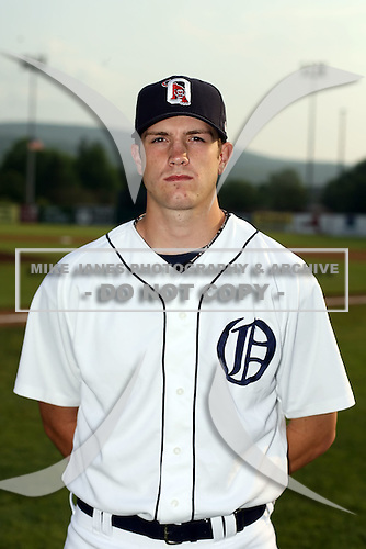 July 7th 2008:  Mark Sorenson of the Oneonta Tigers, Class-A affiliate of Detroit Tigers, during a game at Damaschke Field in Oneonta, NY.  Photo by:  Mike Janes/Four Seam Images