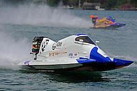 26  July, 2009, Trenton, Michigan USA.Mark Welch (#95) and Howie Nichols (#4).©2009 F.Peirce Williams USA.SST-120 class