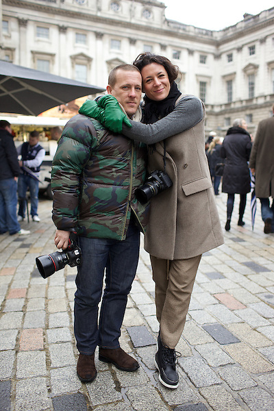 Scott Schuman and Garance Dore
