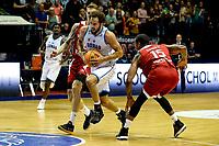 GRONINGEN - Basketbal, Donar - Benfica, voorronde Chamions League, seizoen 2019-2020, 20-09-2019, Donar speler Shane Hammink