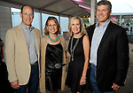 From left: Chairs David and Alie Pruner with Dee and Jeff Boswell at the Nature Conservancy's Nature Rocks  Gala at the Houston Polo Club Thursday Oct. 22,2015.(Dave Rossman photo)