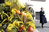 Roma, 7 Marzo 2015<br /> Quirinale.<br /> Giornata internazionale dela donna, <br /> celebrazione dedicata al tema &quot;Donne per la Terra&quot;.<br /> Nalla foto Anna Maria Tarantola.