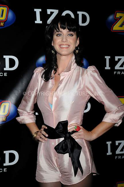 WWW.ACEPIXS.COM . . . . .....May 17, 2008. East Rutherford, NJ....Singer Katy Perry poses at the Z100 Zootopia press room held at the Izod Center...  ....Please byline: Kristin Callahan - ACEPIXS.COM..... *** ***..Ace Pictures, Inc:  ..Philip Vaughan (646) 769 0430..e-mail: info@acepixs.com..web: http://www.acepixs.com