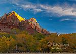 Sunrise, The Sentinel, Zion National Park, Utah