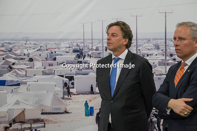 Opening of the photo-exhibition  on Za'atari refugee camp in Jordan, co-organized by the Permanent Missions of Jordan and The Netherlands, and by the United Nations High Commissioner for Refugees (UNHCR)