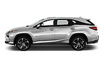 Car Driver side profile view of a 2019 Lexus RX Privilege-Line 5 Door SUV Side View