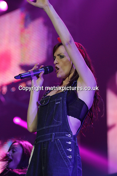 "EXCLUSIVE ALL ROUND PICTURE: MATRIXPICTURES.CO.UK.PLEASE CREDIT ALL USES..WORLD RIGHTS..Irish pop girl-group B*Witched performing live onstage during The Big Reunion Concert Tour, at the Manchester Arena...The tour is the culmination of British reality-documentary series ""The Big Reunion"" that saw several pop groups, who were big names in the mid-to-late 90's, in intensive rehearsals leading up to the event...MAY 4th 2013..REF: NBR 132985"