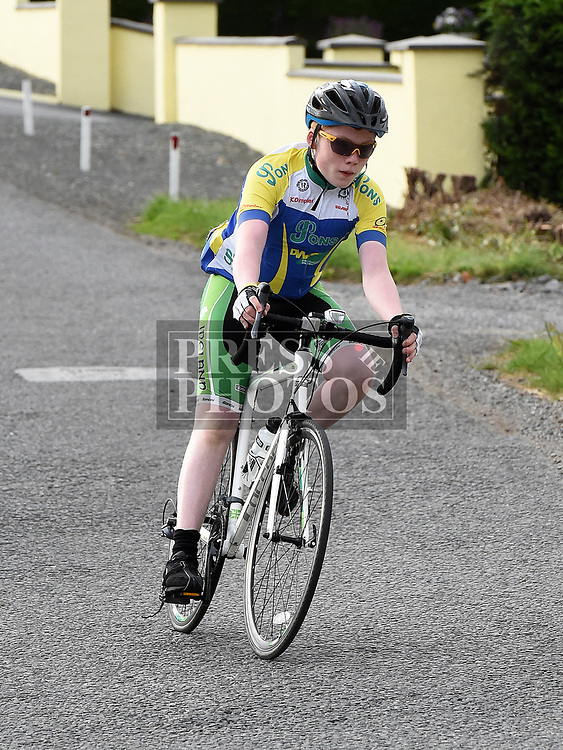 Drogheda Wheelers Bryan Keelan who came 2nd in the youths section of the Mark Mullen League. Photo:Colin Bell/pressphotos.ie