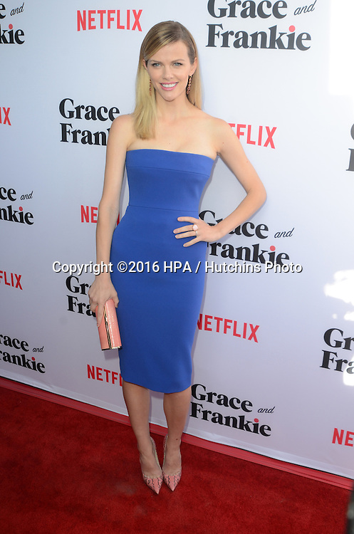 LOS ANGELES - MAY 1:  Brooklyn Decker at the Grace & Frankie Season 2 Premiere Screening at the Harmony Gold on May 1, 2016 in Los Angeles, CA
