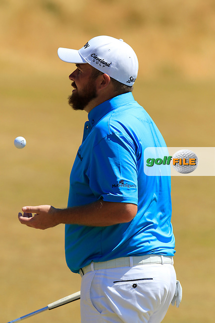 Shane LOWRY (IRL) on the 11th green during Wednesday's Practice Day of the 2015 U.S. Open 115th National Championship held at Chambers Bay, Seattle, Washington, USA. 6/17/2015.<br /> Picture: Golffile | Eoin Clarke<br /> <br /> <br /> <br /> <br /> All photo usage must carry mandatory copyright credit (&copy; Golffile | Eoin Clarke)