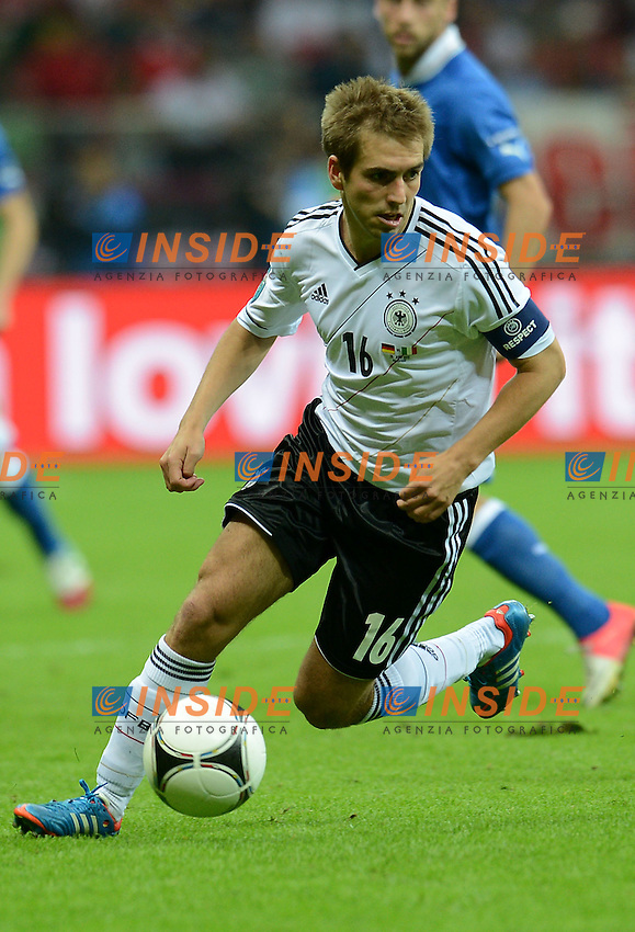 "Philipp LAHM (Germania) .Varsavia 28/06/2012  ""Stadion Narodowy"".Football calcio Europeo 2012 Germania Vs Italia.Football Calcio Euro 2012.Foto Insidefoto Alessandro Sabattini..."