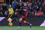 17.01.2016 Camp Nou, Barcelona, Spain. La Liga day 20 march between FC Barcelona and Athletic Club. Aleix Vidal