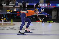 SPEEDSKATING: CALGARY: Olympic Oval, 30-11-2017, ISU World Cup training, Koen Verweij (NED), ©photo Martin de Jong