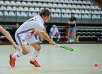 Almere - Zaalhockey  Amsterdam-Den Bosch (m) Boris Burkhardt (Adam)   . TopsportCentrum Almere.    COPYRIGHT KOEN SUYK