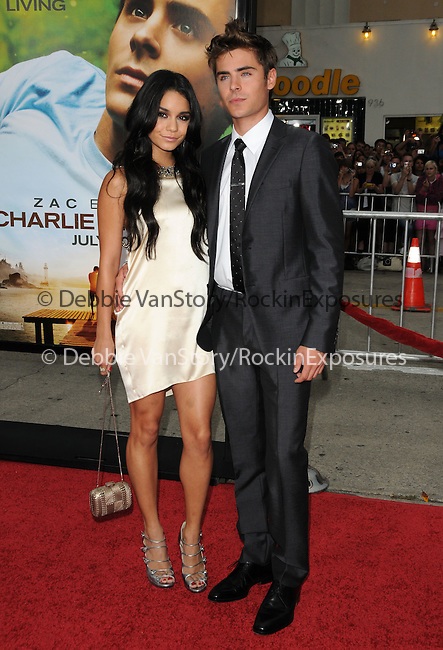 Vanessa Hudgens & Zac Efron at the Universal Pictures' World Premiere of Charlie St. Cloud held at The Regency Village Theater in Westwood, California on July 20,2010                                                                               © 2010 Debbie VanStory / Hollywood Press Agency