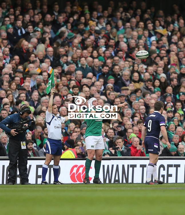Saturday 10th March 2018 |  Ireland vs Scotland<br /> <br /> Rory Best during the NatWest 6 Nations clash between Ireland and Scotland at the Aviva Stadium, Lansdowne Road, Dublin, Ireland. Photo by John Dickson / DICKSONDIGITAL