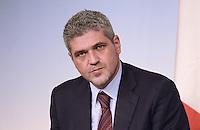 Roma, 11 Ottobre 2013<br /> Palazzo Chigi<br /> Conferenza stampa sulle azioni del Governo per la casa <br />  Nella foto Daniele Ozzimo assessore alle politiche abitative del comune di Roma.