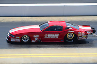 Apr. 14, 2012; Concord, NC, USA: NHRA pro mod driver Don Walsh Jr during qualifying for the Four Wide Nationals at zMax Dragway. Mandatory Credit: Mark J. Rebilas-