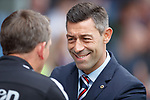 Pedro Caixinha and Billy Dodds