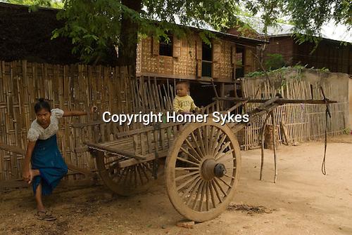 Myn-Ka-Ba village, Bagan, Myanmar South East Asia 2006 ( Burma )