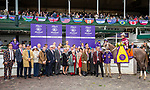 November 2, 2018: Connections for Jaywalk #7 on Breeders' Cup World Championship Friday at Churchill Downs on November 2, 2018 in Louisville, Kentucky. Bill Denver/Eclipse Sportswire/CSM