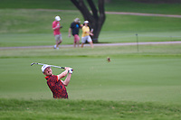 Jonas Blixt (SWE) hits his approach shot on 2 during round 3 of the 2019 Charles Schwab Challenge, Colonial Country Club, Ft. Worth, Texas,  USA. 5/25/2019.<br /> Picture: Golffile | Ken Murray<br /> <br /> All photo usage must carry mandatory copyright credit (© Golffile | Ken Murray)