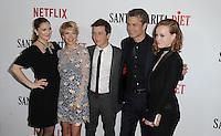 www.acepixs.com<br /> <br /> February 1 2017, LA<br /> <br /> Drew Barrymore, Mary Elizabeth Ellis, Skyler Gisondo, Tomothy Olyphant, Liv Hewson arriving at the premiere Of Netflix's 'Santa Clarita Diet' at the ArcLight Cinemas Cinerama Dome on February 1, 2017 in Hollywood, California<br /> <br /> By Line: Peter West/ACE Pictures<br /> <br /> <br /> ACE Pictures Inc<br /> Tel: 6467670430<br /> Email: info@acepixs.com<br /> www.acepixs.com