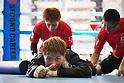 Boxing: Naoya Inoue during media workout