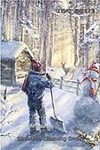 Marcello, CHRISTMAS CHILDREN, WEIHNACHTEN KINDER, NAVIDAD NIÑOS, paintings+++++,ITMCXM1133,#xk# ,playing in snow
