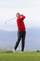 Sean Barry (Fota Island) during round 1 of The West of Ireland Amateur Open in Co. Sligo Golf Club on Friday 18th April 2014.<br /> Picture:  Thos Caffrey / www.golffile.ie