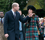 25.12.2017; Sandringham, England: MEGHAN MARKLE JOINS ROYALS FOR CHRISTMAS AT SANDRINGHAM<br /> Meghan Markle, Prince Harry&rsquo;s fiance accompanied him to the Christmas Service at St Mary&rsquo;s Magdalene on the Sandringham estate. Also present were the Duke and Duchess of Cambridge; Princess Beatrice, Princess Eugenie, the Wessexes and Peter Phillips and Family<br /> Members of the extended royal family were also in attendance. <br /> Mandatory Photo Credit: &copy;J Michaels/NEWSPIX INTERNATIONAL<br /> <br /> IMMEDIATE CONFIRMATION OF USAGE REQUIRED:<br /> Newspix International, 31 Chinnery Hill, Bishop's Stortford, ENGLAND CM23 3PS<br /> Tel:+441279 324672  ; Fax: +441279656877<br /> Mobile:  07775681153<br /> e-mail: info@newspixinternational.co.uk<br /> Usage Implies Acceptance of Our Terms &amp; Conditions<br /> Please refer to usage terms. All Fees Payable To Newspix International
