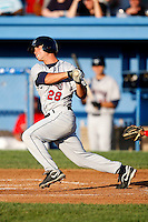 July 27, 2009:  Greg Folgia of the Mahoning Valley Scrappers during a game at Dwyer Stadium in Batavia, NY.  Mahoning Valley is the NY-Penn League Short-Season Class-A affiliate of the Cleveland Indians.  Photo By Mike Janes/Four Seam Images