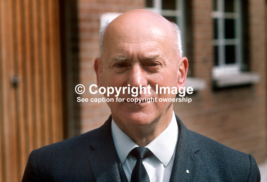 Vivian Simpson, MP, Oldpark, N Ireland Labour Party, NILP, N Ireland Parliament, Stormont, April 1971. 19710400076<br /> <br /> Copyright Image from Victor Patterson, 54 Dorchester Park, Belfast, UK, BT9 6RJ<br /> <br /> Tel: +44 28 9066 1296<br /> Mob: +44 7802 353836<br /> Voicemail +44 20 8816 7153<br /> Email: victorpatterson@me.com<br /> Email: victorpatterson@gmail.com<br /> <br /> IMPORTANT: My Terms and Conditions of Business are at www.victorpatterson.com