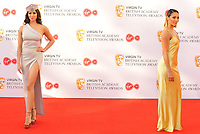 Katya Jones and Karen Clifton at the Virgin TV British Academy (BAFTA) Television Awards 2018, Royal Festival Hall, Belvedere Road, London, England, UK, on Sunday 13 May 2018.<br /> CAP/CAN<br /> &copy;CAN/Capital Pictures