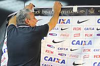 SAO PAULO, SP, 06.12.13 - TREINO CORINTHIANS - O técnico TITE, durante coletiva de imprensa