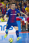 League LNFS 2017/2018.<br /> PlayOff Final-Game 4.<br /> FC Barcelona Lassa vs Movistar Inter FS: 3-3.<br /> FCB por penaltys.<br /> Sergio Lozano.