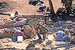 Bill Sommars & Others Excavating Site
