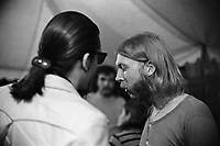 The Allman Brothers performing at the Sunset Concert Series 'Summerthing' at Boston on the Common in Boston, MA in the summer of 1971. <br /> *** NEVER BEFORE PUBLISHED PHOTOS ***<br /> &copy; Peter Tarnoff / MediaPunch